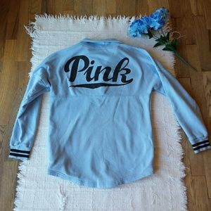 Victoria's Secret Pink • Baby Blue Sweatshirt